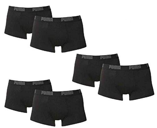 PUMA Herren Spezialpack Boxer Boxershort 6er Pack (DarkGreyMelange, L = Gr. 6) (Boyshorts Boxer)