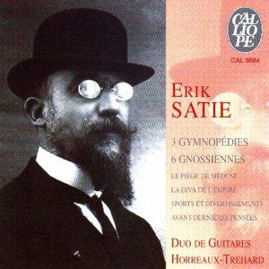 Satie : Pièces pour guitare (Gymnopédies / Gnossiennes)