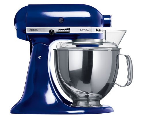 KitchenAid 5KSM150PSEBU Robot da Cucina, 300 W, 4.83 Litri, Acciaio Inox, 10 velocità, Blu