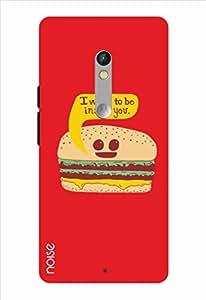 Noise Burger Inside Printed Cover for Motorola Moto X Play