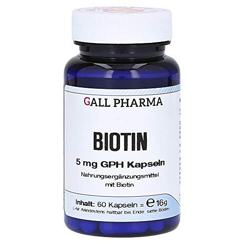 BIOTIN 5 mg GPH Kapseln 60 Stück -