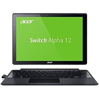 Acer Switch Alpha 12 SA5-271-53QS 30,5 cm (12 Zoll QHD Touch IPS) Convertible Notebook (Intel Core i5-6200U, 8GB RAM, 256GB SSD, Windows 10) silber