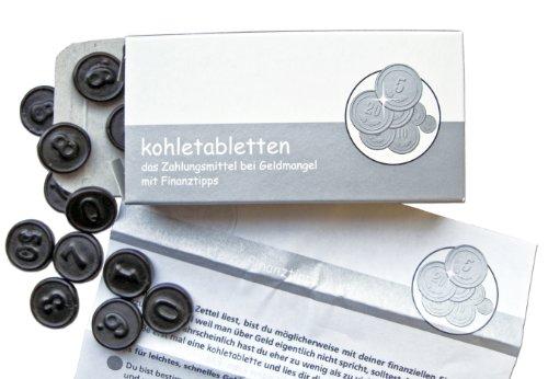 Preisvergleich Produktbild Liebeskummerpillen Kohletabletten, 1er Pack (1 x 20 g)
