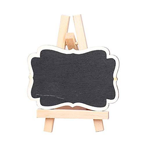 Universal-tisch-basen (Cdrox Hölzerne Tafel-Universal-Message Board Minitafel Tragbare Hochzeit Dekor-Ausgangsdekoration)