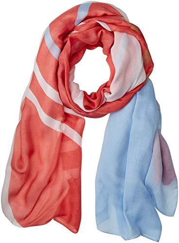 BOSS Damen Nasun Schal, Light/Pastel Orange 835, One Size (Herstellergröße: STCK)