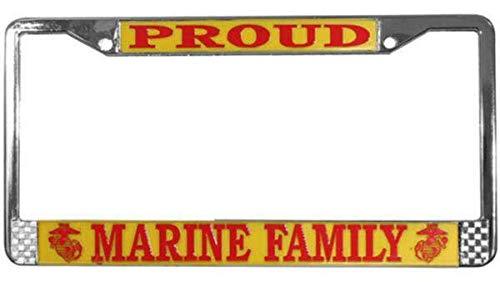 Mitchell Proffitt Proud Marine Family Metall-Kennzeichenrahmen -