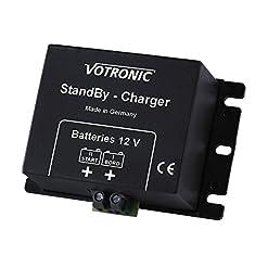 Votronic 2a 12V DC a DC a batteria ricaricabile caricatore automatico/Standby caricabatterie per camper, caravan, barche, yacht, RV, Van, rimorchio