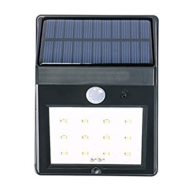 MKQPOWER® Solar Motion Sensor Light, Solar Powered Waterproof Wireless Security 12 LEDs Bright Motion Sensor Light For Outdoor Wall Garden Lamp Patio Deck Yard Home Driveway Stairs With Auto On/Off