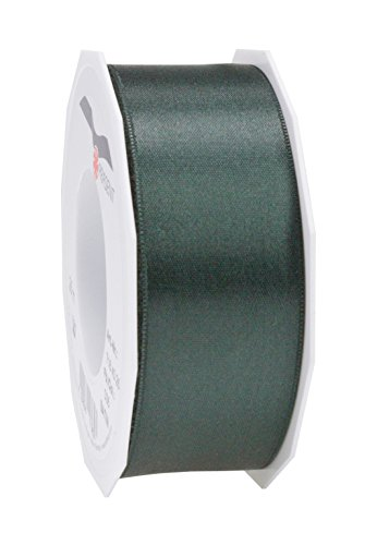 Prasent C.E. Pattberg GmbH 40 mm 25 m Satin Double Face Band Rolle, Hunter Green - Green-zubehör Hunter