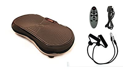 Crazy Vibrations Crazy Fit Massage Vibration Plate Fitness Machine Lifetime Motor Warranty 2500 Watts (From 1000 Watt Motor) Get Fit with this revolutionary piece of gym equipment