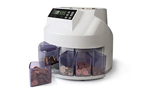 Safescan 1250 - Contador y clasificador de monedas