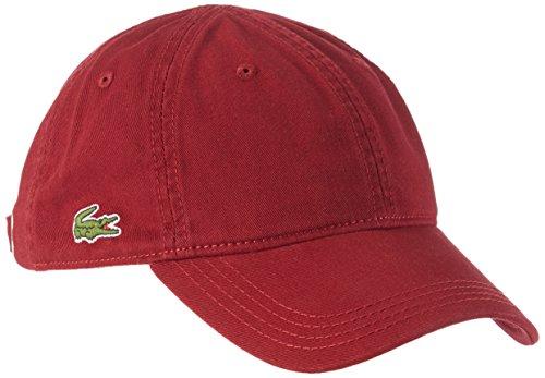 Lacoste Unisex Baseball Cap RK9811-00, Gr. One Size, Rot (Pinot Z7F)