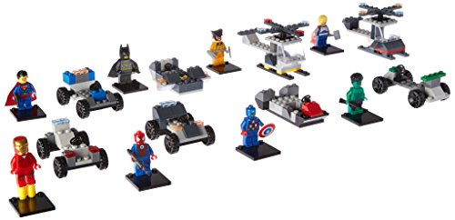 OliaDesign Lot of Building Toy Action Super Heroes Mini Figure (16 Set)