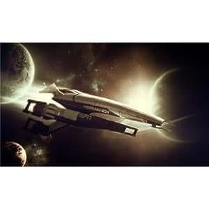 049 Mass Effect 24x14 Silk Print Poster