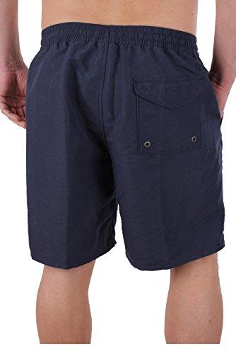 Timberland Costumi uomo pantaloncini Sunapee Lago Solid Swim 7156J Blu scuro