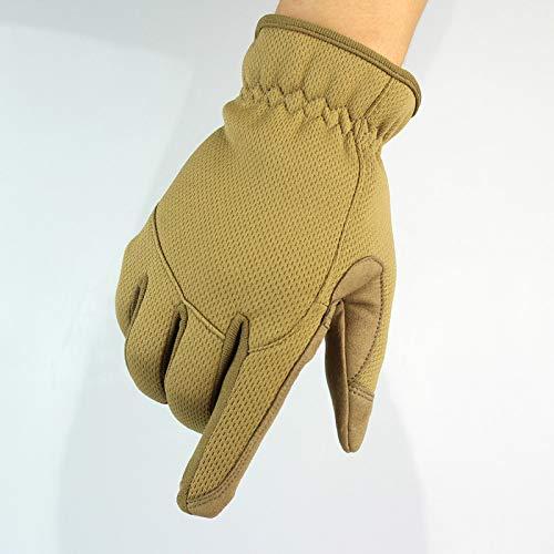Llzgpzst guanti tattici guanti guanti sportivi da equitazione per arrampicata anti-scivolo guanti anti-usura