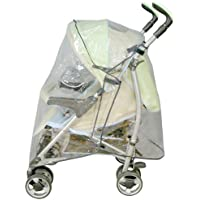 Bambisol HPU Universal Rain Cover for Buggy with Canopy Transparent preiswert