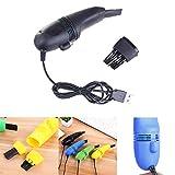 Mini USB Clavier Brosse Aspirateur pour PC Ordinateur Portable Bureau Collecteur De...
