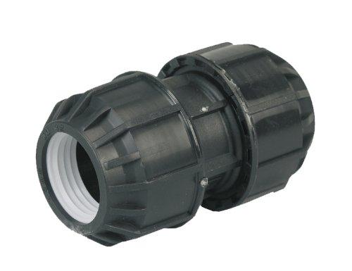 """0706040 EAN PE-Rohr-Verbindung Kupplung 1 1/4"""" x 40 mm aus Kunststoff"""