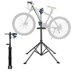 Yaheetech 360 Grad Drehbar Reparaturständer 30 kg Unterstützt Fahrrad Montageständer Werkzeugständer Höhenverstellbar