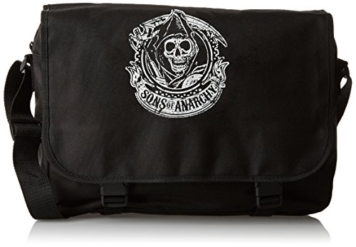 Sons Of Anarchy Samcro Reaper Borsa a tracolla nero nero