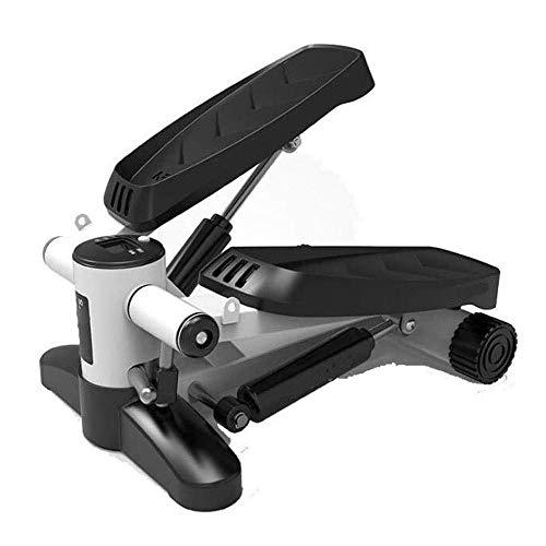 Lcxghs Stepper, Multifunktions-Stepper Mini Hydraulische Schlankheits-Maschine for Männer und Frauen Fitnessgeräte Freie Montage Leg Trainer