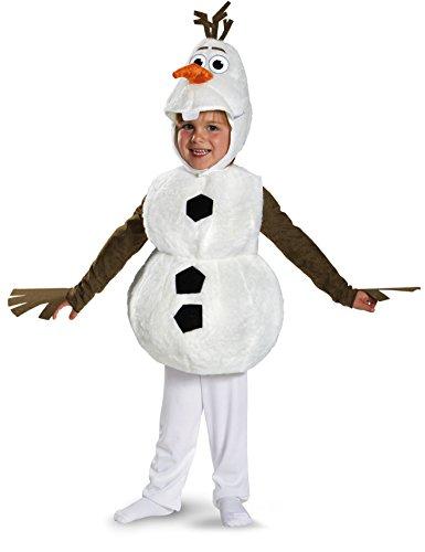 Disney Frozen Deluxe Olaf Traje | 4-6
