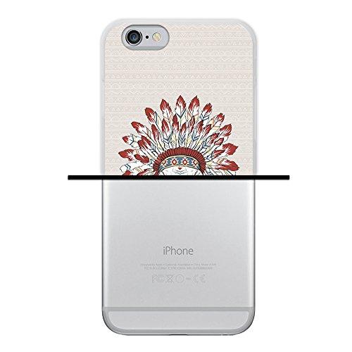 iPhone 6 6S Hülle, WoowCase Handyhülle Silikon für [ iPhone 6 6S ] Liebe Streifen Handytasche Handy Cover Case Schutzhülle Flexible TPU - Transparent Housse Gel iPhone 6 6S Transparent D0319