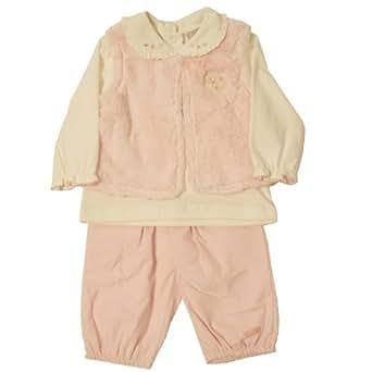 Dizzy Daisy Baby Girl's Lucinda Lamb 3Pc Set Pink 6 - 9 Months