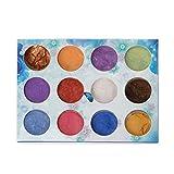 SimpleLife 12 Box Slime Dye Powder Mica Pearl Pigment Colorants Candela di Sapone in Resina