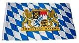 MM Freistaat Bayern Löwe Schrift Flagge