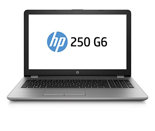 HP 250 G6 SP 2UC32ES (15,6 Zoll Full HD) Business Notebook (Intel Core i7-7500U, 8GB RAM, 256GB SSD, Intel HD Grafikkarte, DVD-Writer, Windows 10) grau