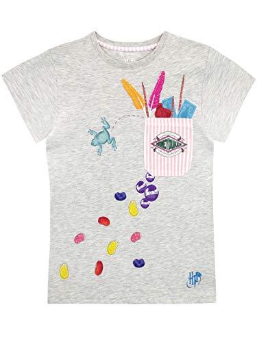 HARRY POTTER Mädchen Honeydukes T-Shirt Grau 140