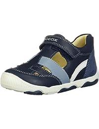 Geox New Balu' Boy B, Zapatillas con Velcro para Bebés