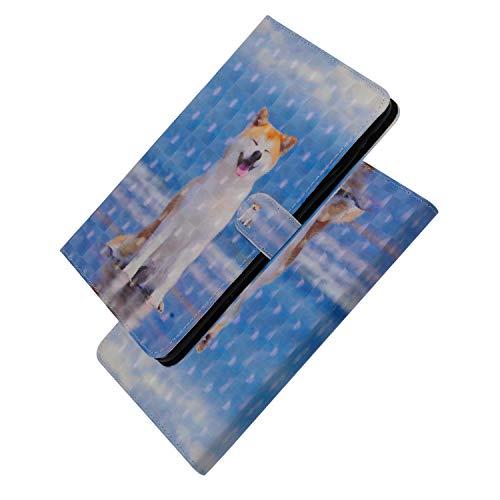 Yomiro Cover per Samsung Tab S4 10.5, Custodia Portafoglio per Samsung Galaxy Tab S4 10.5 T830 Tablet, 3D Flip Smart Pelle PU con Sonno/Sveglia la Funzione Supporto Slot per Schede Protezione Case