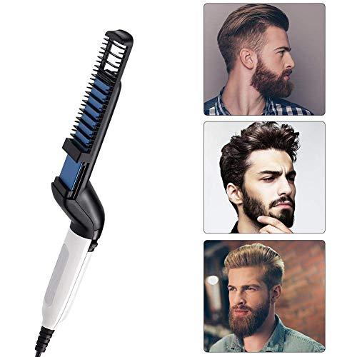 Los Hombres Barba rapida enderezadora Styler Peine