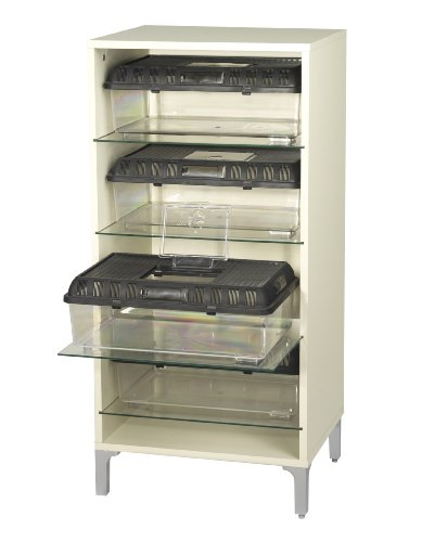 Vivexotic TV Stand with Glass Shelf reptistax Breader 45x37x84cm 1