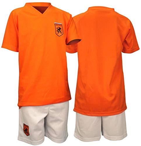 Schreuders Sports Herren 74qh Supporter Fußball Kit L orange/weiß