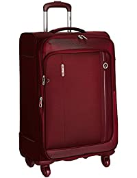 VIP Polyester 43 cms Maroon Softsided Suitcase (STUNXW67MRN)