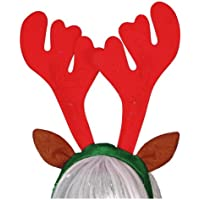 Cerchietto Renna Com Musica e Luci Smiffys 22998 Reindeer Antlers