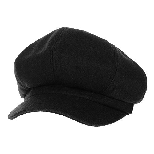 WITHMOONS Coppola Cappello Irish Gatsby Newsboy Hat Wool Felt Simple Gatsby  Ivy Cap SL3458 ee869b11b467