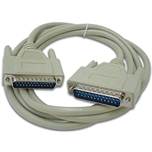 Velleman 141546 Series Cable 25 pin D-sub male