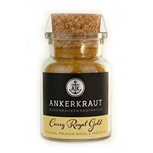 "Ankerkraut ""Curry Royal Gold"", 80g im Korkenglas"