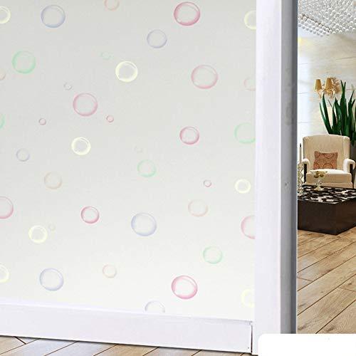 lsaiyy Breite 45 cm * lang 100 cm Matt Opakglas Fensterfolie Für Fenster Privacy Adhesive Glasaufkleber Wohnkultur Mischfarbe Schlafzimmer 17 45 cm X 100 cm