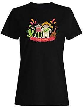 La novedad de cinco de mayo mexico divertido camiseta de las mujeres b518f