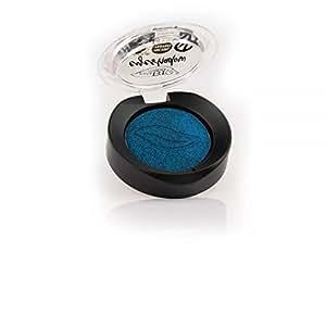 PUROBIO - OMBRETTO IN CIALDA N. 07 BLU - 1 CONFEZIONE DA 2,5 g. Tonalità shimmer, biologico, vegan, nickel tested