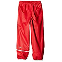 CareTec Kids Rain Pants, Red, 104