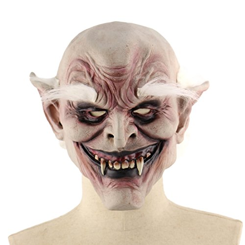 YAHUA Latex Maske Gruselige Blutige Halloween Maskerade Horror Latex Zombie