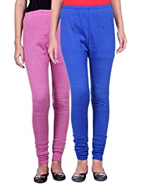 Belmarsh Warm Leggings - Pack of 2 (Bpink_Royal_Blue)