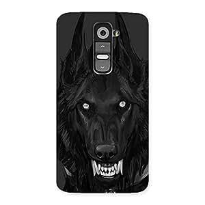 Danger Wolf Back Case Cover for LG G2